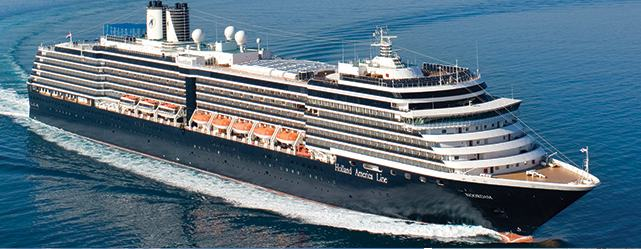 We will sail on Holand America's ms Noordam