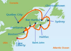2018 Spirit of the West Cruise - Quebec City to New York!