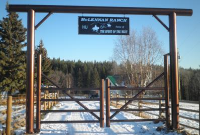 McLennan Ranch Gate from Morand Industries